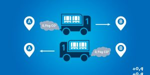 carga maxima menos emisiones transporte merkancia